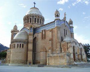 Algeria Algeri La Basilica di Nostra Signora d'Africa