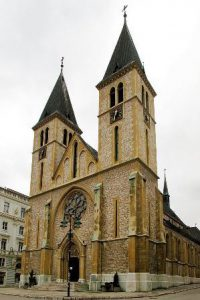 bosnia-ed-erzegovina-sarajevo-la-cattedrale-del-sacro-cuore-di-sarajevo