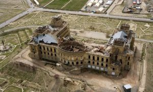 Afghanistan Kabul Il Palazzo Darul Aman
