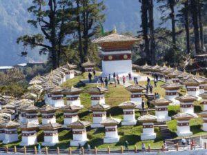 Bhutan Thimphu Il Dochula Pass