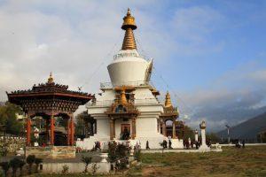 Bhutan Thimphu La Thimphu Chorten