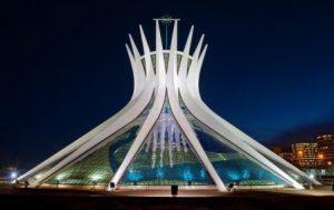 Brasile Brasilia La Cattedrale di Brasilia