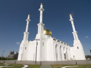 Kazakistan Astana La Moschea Khazret Sultan