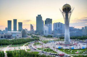 Kazakistan Astana La Torre Bayterek