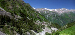 Kirghizistan Bishkek Il Parco Nazionale Ala Archa