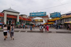 Kirghizistan Bishkek Osh Bazaar