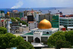 Maldive Male La Moschea di Hukuru Miski