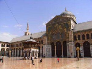 Siria Damasco La Grande Moschea degli Omayyadi