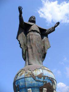Timor Est Dili Statua di Cristo Re