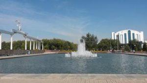 Uzbekistan Tashkent La Piazza dell'Indipendenza