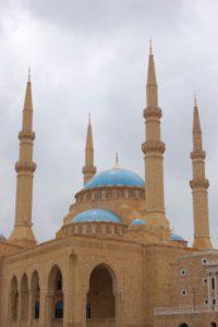 libano beirut La Moschea di Mohammad Al-Amin