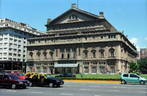 Argentina Buenos Aires Il Teatro Colon