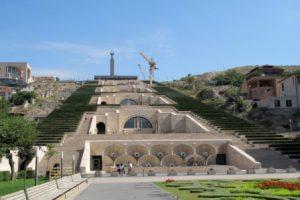 Armenia Erevan Le Cascade di Erevan
