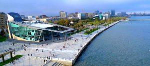 Azerbaigian Baku Baku Boulevard