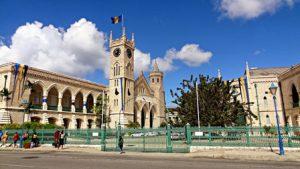Barbados Bridgetown Il Palazzo del Parlamento