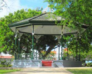 Barbados Bridgetown Il Parco della Regina