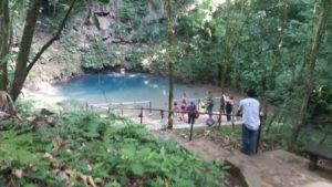 Belize Belmopan Il Parco Nazionale Blue Hole