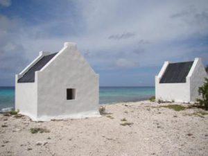 Bonaire Kralendijk Slave Huts