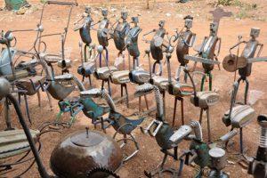 Burkina Faso Ouagadougou Village Artisanal di Ouagadougou