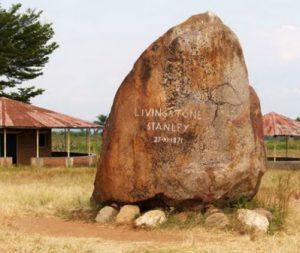 Burundi Bujumbura La Pietra di Livingstone e Stanley