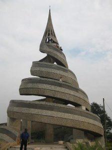 Camerun Yaoundé Il Monumento della Riunificazione