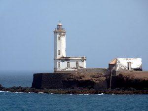 Capo Verde Praia Farol de D. Maria Pia