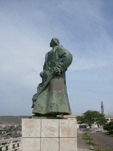 Capo Verde Praia Il Monumento di Diogo Gomes