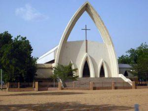 Ciad N'Djamena La Cattedrale di N'Djamena
