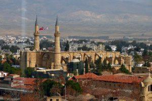 Cipro Nicosia La Moschea Selimiye
