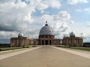 Costa d'Avorio Yamoussoukro La Basilica di Nostra Signora della Pace
