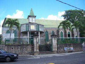 Dominica Roseau La Chiesa Anglicana di St. George