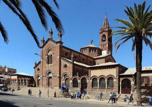 Eritrea Asmara La Cattedrale di San Giuseppe di Asmara