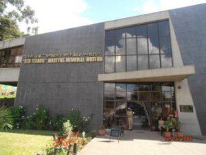 Etiopia Addis Abeba Il Museo Memoriale dei Martiri del Terrore Rosso