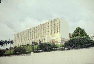 Gabon Libreville Il Palazzo Presidenziale di Libreville