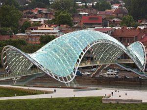 Georgia Tbilisi Il Ponte della Pace