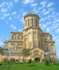 Georgia Tbilisi La Cattedrale della Santissima Trinità