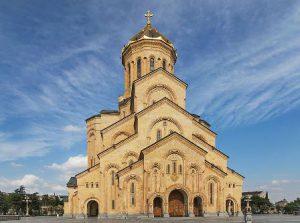 Georgia Tbilisi La Cattedrale di San Giorgio