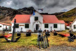Georgia del Sud Grytviken Il Museo della Giorgia del Sud