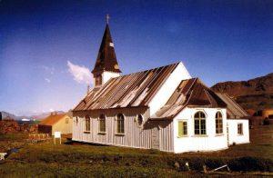Georgia del Sud Grytviken La Chiesa Norvegiana Luterana