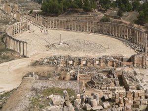 Giordania Amman Il Foro Romano
