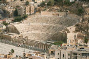 Giordania Amman L'Anfiteatro Romano