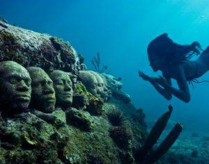 Grenada St. George's Molinere Underwater Sculpture Park