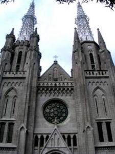 Indonesia Giacarta La Cattedrale di Giacarta