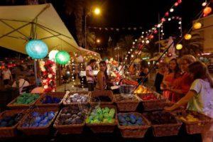 Laos Vientiane Il Mercato notturno di Luang Prabang