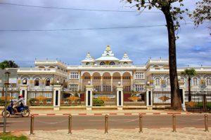 Laos Vientiane Il Palazzo presidenziale