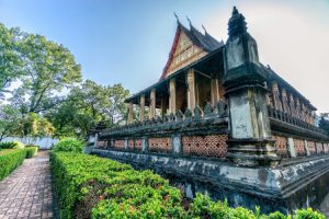 Laos Vientiane Il Tempio Haw Pha Keo