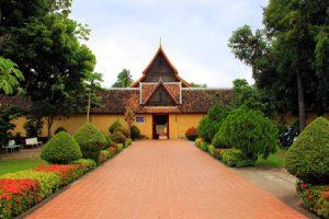 Laos Vientiane Il Tempio Wat Sisaket