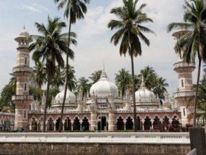 Malesia Kuala Lumpur Jamek Mosque
