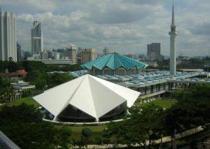 Malesia Kuala Lumpur National Mosque of Malaysia