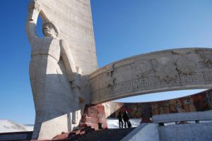 Mongolia Ulan Bator Il Memoriale Zaisan